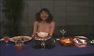 Cooking man-cream Fondue