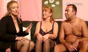 Two chubby lady german old females
