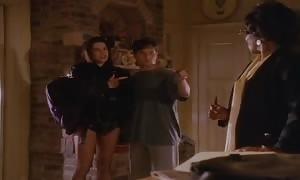 Neve Campbell celebration of five (Sexy Funny)