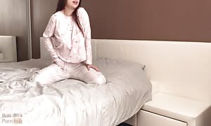 youngster with flawless juggs has lustful sex in the morning - Mini diva
