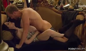 unbelievable extensive sex in the pin by porno Fidelity