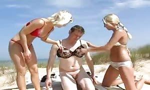 undressed Beach - clad in underwear