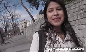 PUTA LOCURA nice big titted youngster picked up