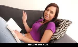 SisLovesMe - Training My Nerdy Step Sister to enjoy My shlong