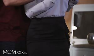 MOMXXX. latin woman mommy in stockings provides jugg screw and throat fuck to giant shaft