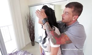 large Titted Angelina Castro fucked In brand new condo!