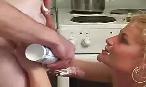 slapped lotion throating and crazy drilling fun