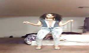 Bailando hot culazo